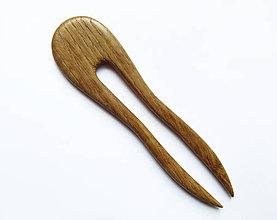 Ozdoby do vlasov - Drevená ihlica na počkanie, 3-5 dní - 9429360_