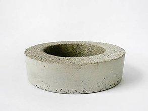 Nádoby - betónový kvetináč This is Concrete - 9430394_