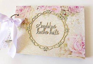 Papiernictvo - svadobná kniha hostí - 9429515_