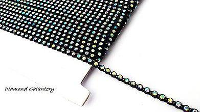 Galantéria - Borta melírovaná AB crystal - 2,5 mm - cena za 10 cm - 9430315_