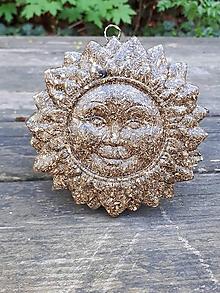 Dekorácie - Závesné SLNKO Ø 10 cm - 9431437_