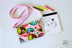 Detské tašky - Detská kabelka - pastelkovníčka Girls - 9431908_