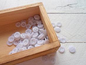 Galantéria - gombík plastový 12mm - 9430248_