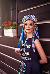 Šaty - Ľanové šaty Slavianka - 9431405_