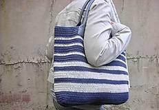 Veľké tašky - Námornická taška - 9431687_