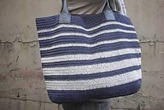 Veľké tašky - Námornická taška - 9431688_