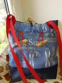 Iné tašky - Taška/Modro-červený sen - 9429939_