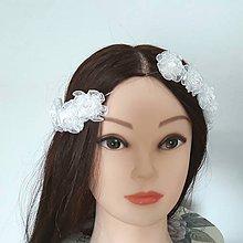Ozdoby do vlasov - Girlanda do vlasov s posúvateľnými kvetmi - 9430242_