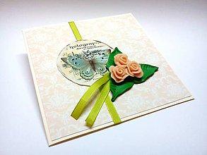 Papiernictvo - Pohľadnica ... ružičková II - 9435208_