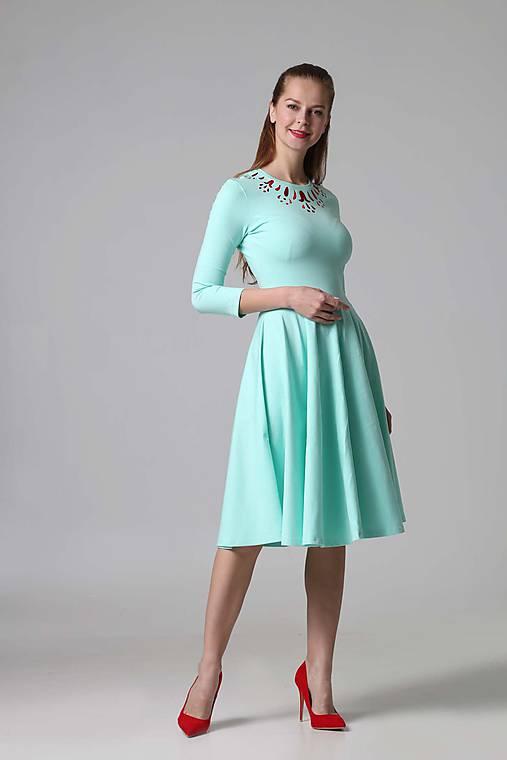 Šaty - Jewel red - 9433288_