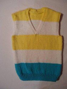 Detské oblečenie - Vestička-slnko a more - 9436128_