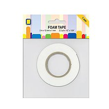 Farby-laky - 3D penová páska 1mm, 1,2cm x 2m - 9434050_