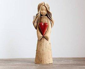 Dekorácie - Anjel Hilda - 9434576_