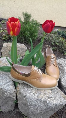 Obuv - Hand made dámské topánky z  kože - 9436034_