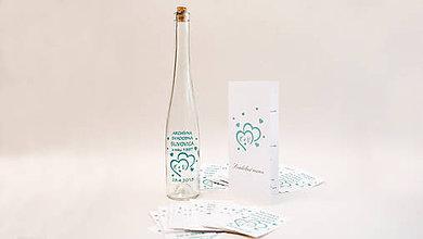 Papiernictvo - Etiketa na svadobné víno bez pozadia, vyrezávaná - 9434331_