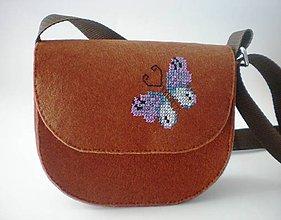 Detské tašky - Moja prvá kabelka (Motýľ) - 9433021_