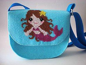 Detské tašky - Moja prvá kabelka (Morská víla) - 9433038_