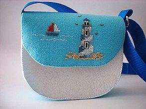 Detské tašky - Moja prvá kabelka (Leto pri mori) - 9433069_