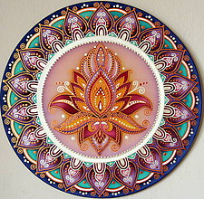 Dekorácie - Mandala...Cestou k svetlu a poznaniu - 9434751_