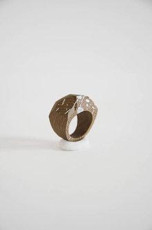 Prstene - Prsteň marmo 1° (Prsteň fazetovaný marmo 1°) - 9435438_