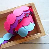 Galantéria - dekoračný filc 3ks - 9434526_