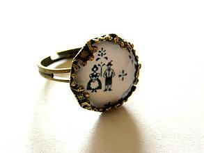 Prstene - folk štefánia prstienok - 9436543_