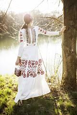 Šaty - Vyšívané šaty s dlhým rukávom Slavianka - 9436228_