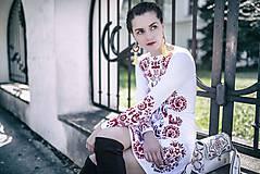 Šaty - Biela Slavianka - 9436380_