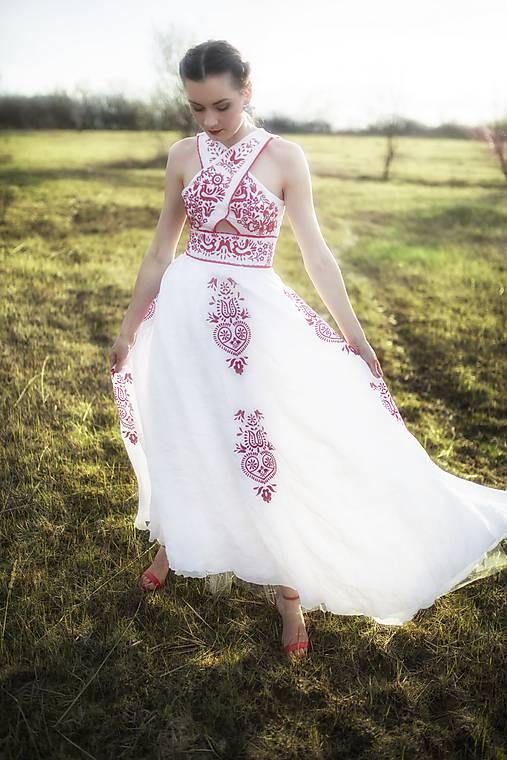 Ľanové šaty Slavianka