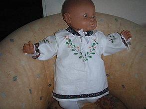 Detské oblečenie - Krojová košieľka - 9435902_