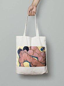 Nákupné tašky - Taška na pláž/do mesta, motív