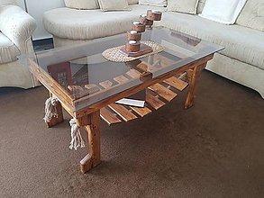 Nábytok - Konferenčný stolík Robinsonov mostík 120cm - 9433585_