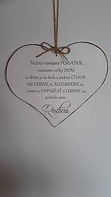 Tabuľky - Citát v srdci - 9434738_