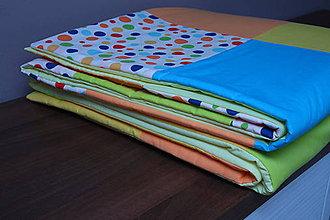 Úžitkový textil - Veselááá prikrývka,deka,tenký paplón - 9433109_