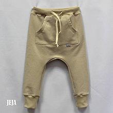 Detské oblečenie - Béžové pudláče - 9436435_