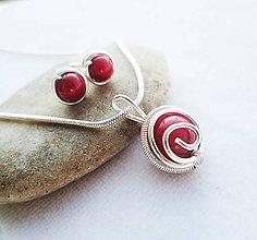 Sady šperkov - koral - 9433015_