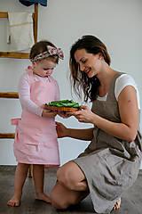 Detské oblečenie - Detská ľanová zásterka - 9435634_