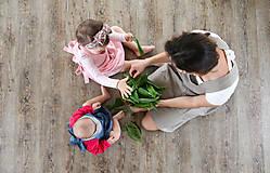 Detské oblečenie - Detská ľanová zásterka - 9435651_