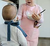 Detské oblečenie - Detská ľanová zásterka - 9435652_