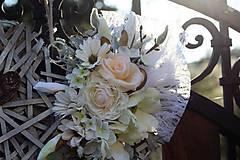 Dekorácie - Svadobné srdce - 9438639_