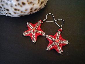 Náušnice - Náušnice - Morská hviezda - 9437608_
