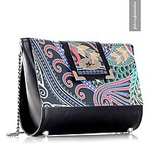 Kabelky - Bellatrix nr. 5 - štýlová kabelka na rameno s pestrým a originálnym dizajnom - 9437554_