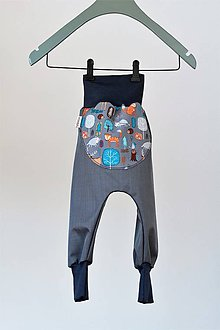 Detské oblečenie - Softshellky jarné