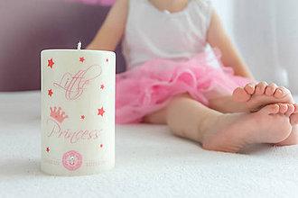 Detské doplnky - Sviečka Little Princess - 9437526_