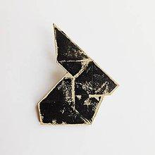 Odznaky/Brošne - brošňa 'Usagi' - 9437785_