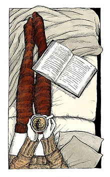 Grafika - Kávička  - art print - tlač A4, A5 - 9437281_