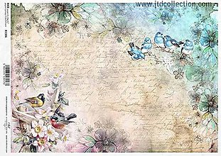 Papier - ryžový papier ITD 1386 - 9437445_