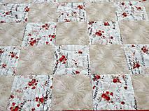 Úžitkový textil - Prehoz na posteľ  - 9439317_