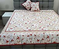 Úžitkový textil - Prehoz na posteľ + vankúše - 9439318_