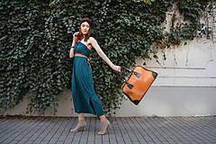 Šaty - Smaragdové 4 šaty v 1 sukni - 9438562_